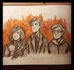 This is one of the best Lucy drawings I have seen so far! Oh hon this is the best Lockwood & Co. drawing I've seen Lockwood And Co, Rangers Apprentice, Howls Moving Castle, Ghost Hunting, Lunar Chronicles, Fantasy Books, Book Fandoms, Movies Showing, Art Sketches
