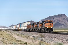 https://flic.kr/p/VmmtNx | BNSF 7518 02 | Westbound between Goffs and Fenner California, this was it for trains on our little journey out West