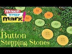 Mark Montano: Button Stepping Stones DIY