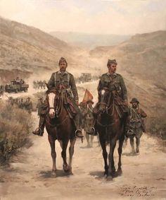 Spanish Foreign Legion, Column of March 1921 by Augusto Ferrer-Dalmau