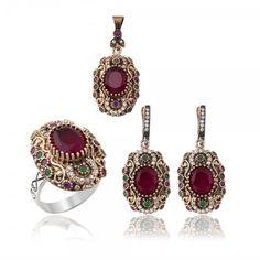 Silver Ruby Gems of authentic Ottoman Jewelry www.hanedansilver.com #Roxelana #East #Market #Hurrem #Jewellers #Silver #Earring #Jewelers #Ottoman #GrandBazaar #Earring #Silver #Pendant #Silver #Bracelet #Anadolu #Schmuck #Silver #Bead #Bracelet #East #Authentic #Jewelry #Necklace #Jewellery #Silver #Ring #Silver #Necklace #Pendant #Antique #istanbul #Turkiye #Reliable #Outlet #Wholesale #Jewelry #Factory