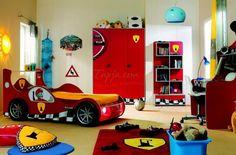 Colorful Bedroom For Kids With Formula 1 Theme colorful bedroom decorating ideas modern design Bedroom design http://seekayem.com