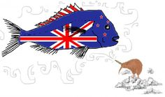 New Zealand is appealing to the public to design and vote on a new flag, and the results are as weird and wonderful as you'd expect New Zealand Flag, Kiwi Bird, Real Tattoo, Flag Design, Weird And Wonderful, Auckland, Nativity, Geek Stuff, News