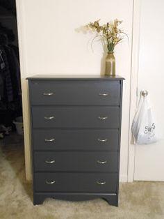 Paint laminate dresser