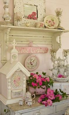 shabby chic decor | Shabby Chic Decor | Frilly