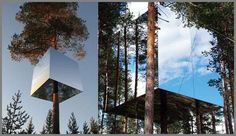 The Harad Treehotel Brings Back Childhood Memories #treehouses trendhunter.com
