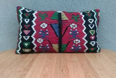 Check out this item in my Etsy shop https://www.etsy.com/listing/239426483/kilim-pillow-cover-7040-cm