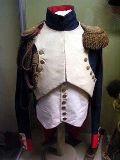 Giacca da ufficiale dei granatieri a cavallo della guardia imperiale francese