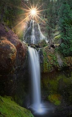 Butte creek falls Oregon USA