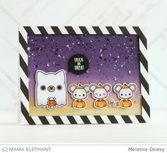 mama elephant | design blog: STAMP HIGHLIGHT : MEOWLLOWEEN EXTRAS