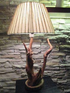 Wood / Stolová lampa  - PREDANÁ