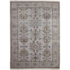 Shop for Hand-knotted Oushak Sami Blue Rug (6'0 x 8'9). Get free shipping at Overstock.com - Your Online Home Decor Outlet Store! Get 5% in rewards with Club O!