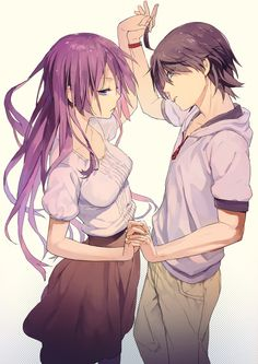 Anime couple is soo cute