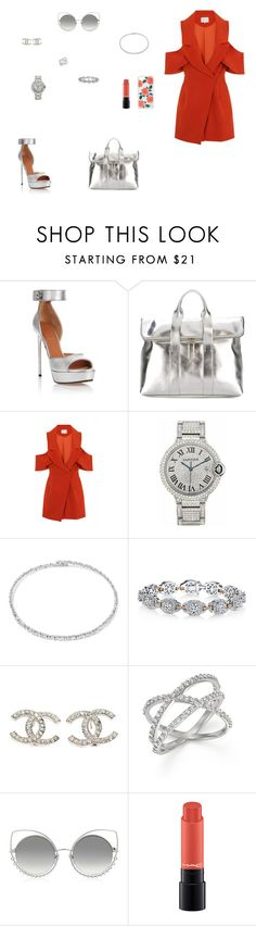 """""""Look do Dia"""" by julianaf121 ❤ liked on Polyvore featuring Givenchy, 3.1 Phillip Lim, Lavish Alice, Cartier, Suzanne Kalan, Harry Kotlar, Chanel, KC Designs, Marc Jacobs and Sonix"""