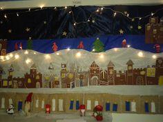Piparilinna -joulukalenteri (2.lk) Alkuopettajat FB -sivustosta / Mari Jauhiainen Christmas Calendar, Xmas Crafts, Teaching Art, Birthday Candles, Fair Grounds, Winter, Inspiration, Advent, Education