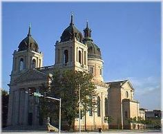 St. Mary's Cathederal bulit in 1872. First Catholic Church in Wichita Kans. Where I was married.