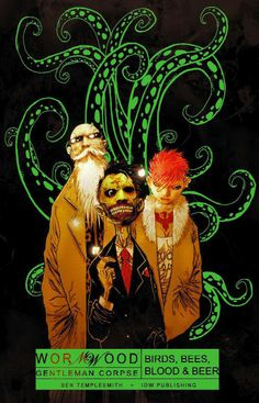 Wormwood is coming to Television thanks to IDW Entertainment and George Lopez.