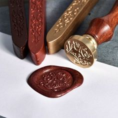 Cool Gifts, Best Gifts, 1000 Gifts, Cheap Stamps, Decorated Envelopes, Floral Letters, Wax Seal Stamp, Novelty Items, Unusual Gifts