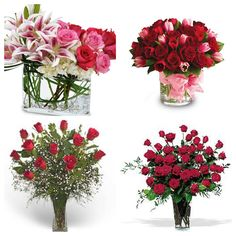 Roses are strongly associated with true love!