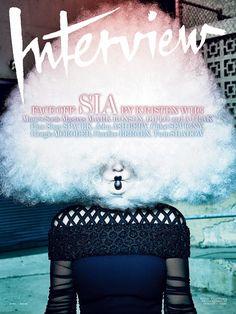Interview Abril 2015: Sia en Balenciaga by Gregory Harris - Estilismo Elin Svahn.
