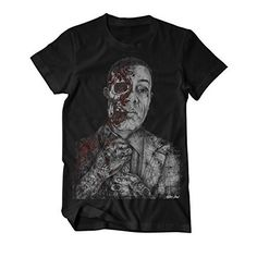 Gustavo Frings T-Shirt, Zeichnung Wayne Maguire https://www.amazon.de/King-Of-Shirts-Gustavo-t%C3%A4towiert/dp/B01KI1YYIE/ref=as_li_ss_tl?ie=UTF8&refRID=NBJDY0AFKQS31DTY4PRC&linkCode=sl1&tag=kiofsh-21&linkId=52aa2f6ea1da8d85934aa79cff5e9d1f