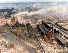Bethelehem Steel Aerial View