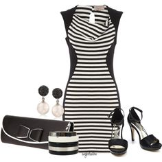 Black and White by angkclaxton on Polyvore featuring мода, Dorothy Perkins, Wallis and Tianni