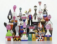 Wooden Dolls by Alexander Girard, 1963.