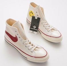 c113a5f67f56 Nike Swoosh Converse High CTAS 70 HI TRU Parchment Converse High