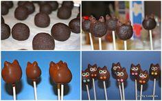 Owl Cake Pops