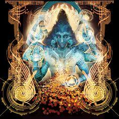 Shiva......Android Jones