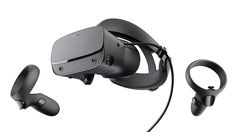 Oculus Rift S Headset. Compatible with Oculus Quest (Right & Left). Rift S stays securely and comfortably in place with a quick twist of the fit wheel, so it can take-or double take-your fastest reactions. Gaming Headset, Tour Pc, Oculus Vr, Halo Headband, Application Mobile, Vr Games, Video Games, Ready Player One, Audio
