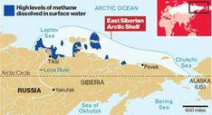 Vast methane 'plumes' seen in Arctic ocean as sea ice retreats