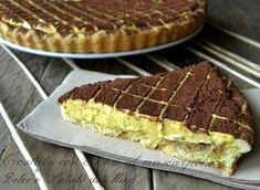 Crostata con crema al mascarpone, una ricetta con una crema fresca ma con la base croccante, molto particolare.