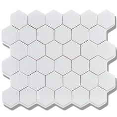 Price is quoted per square feet/sheet. Model/ Series: CC Mosaics - Hexagon 1x1Size: All Sizes AvailableColors: Snow WhiteType: Glazed PorcelainThickness: 6 MM