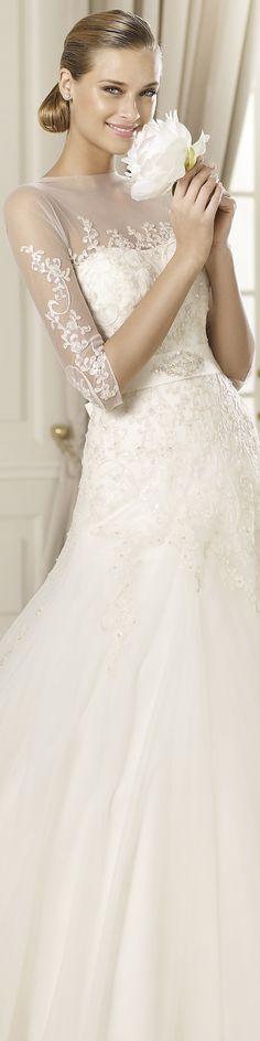 "#Pronovias wedding dress ""Duquesa"", 2013 Collections."
