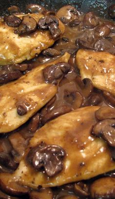 Weight Watchers Chicken Marsala Recipe 7pp
