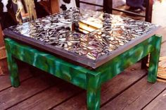 Seven years bad luck? No....just a cool coffee table.