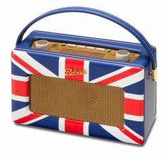 Roberts Radio Revival RD60 DAB+ Union Jack