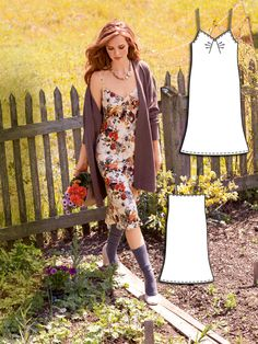 Read the article 'Town and Country: 11 New Women's Sewing Patterns' in the BurdaStyle blog 'Daily Thread'.