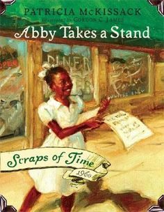 An excellent example of historical fiction for children, this book explores the Nashville sit-ins during the Civil RIghts Movement.  I highly recommend the series, Scraps of Time.  The reading level is approximately 3rd to 4th grade.