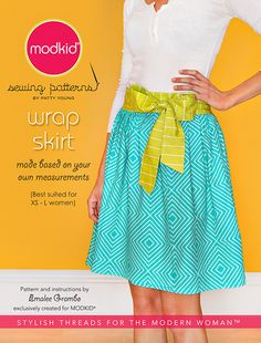 Wrap Skirt pattern.  For vintage crochet apron on Crochet Projects board and inspiration from Style board.