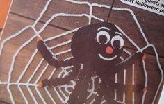 Halloween Crochet Pattern Magazine - Spider via Etsy.