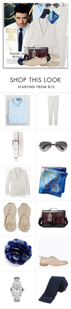 """""""Richard Madden * 3.09"""" by coraline-marie ❤ liked on Polyvore featuring Theory, NIKE, Ray-Ban, Falke, Ted Baker, hook + Albert, Belstaff, Montblanc, men's fashion and menswear"""