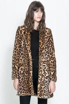 The classic faux fur pattern