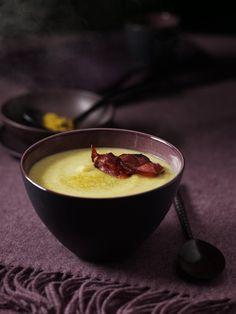 Recette velouté de céleri, pommes et curry - Cuisine / Madame...