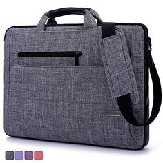 Brinch 15.6-Inch Multi-functional Suit Fabric Portable Laptop Sleeve Case Bag for Laptop, Tablet, Macbook, Notebook - Grey BRINCH(TM) http://www.amazon.com/dp/B00W1FMY0Q/ref=cm_sw_r_pi_dp_GDi-wb1KA07NM