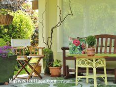 Summer garden design