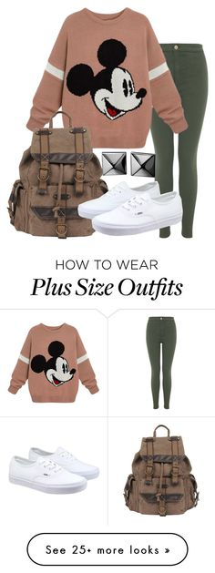 """""""Classic Mickey"""" by forever-inspired on Polyvore featuring Miss Selfridge, Wilsons Leather, Vans and Waterford"""