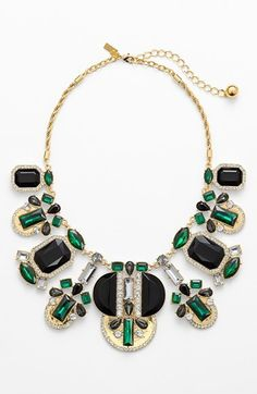 Kate Spade New York 'art Deco Gems' Statement Necklace